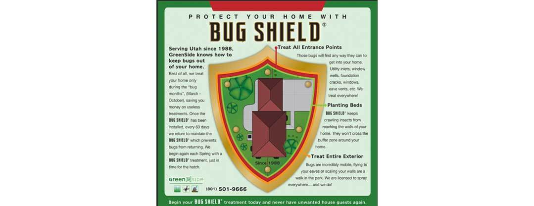 Home Pest Control in Salt Lake City | Greenside Pest Control